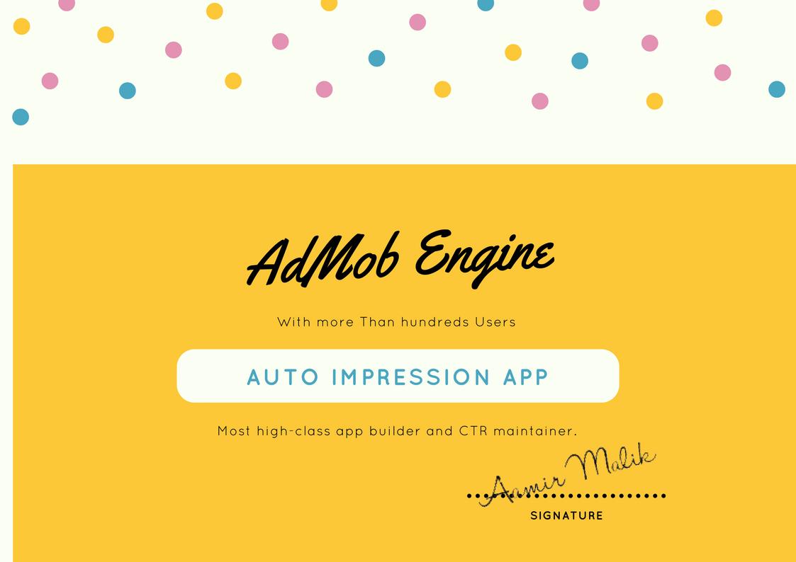 AdMob Engine Official - Home